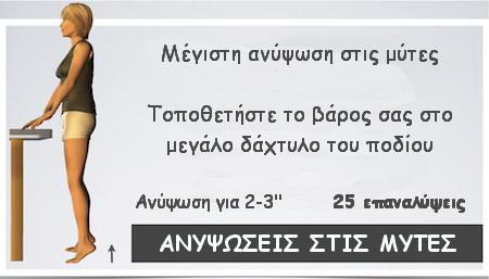 ΠΟΝΟΣ-ΓΟΝΑΤΟ-ΑΝΥΨΩΣΕΙΣ